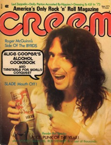 Creem Magazine, Alice Cooper